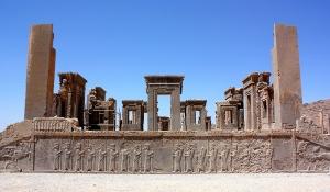 Ruínas de Persépolis, no atual Irã.